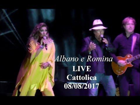al bano & romina - il concerto a cattolica in 5 minuti (megamix)