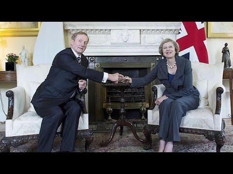 Brexit: «Όχι στα σύνορα του παρελθόντος», συμφωνούν Λονδίνο και Δουβλίνο