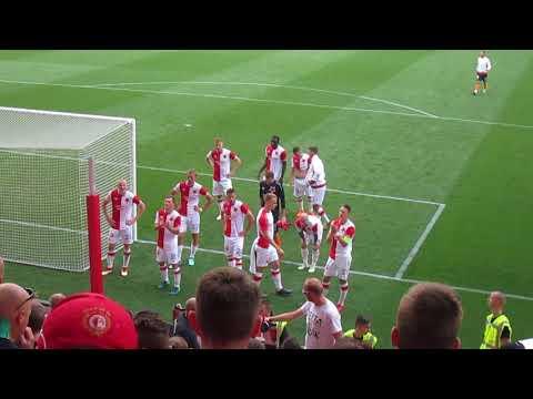 SK Slavia Praha – FK Jablonec 19.05.2018  - děkovačka