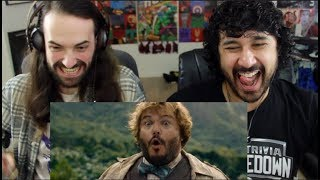 Video Honest Trailers - JUMANJI: WELCOME TO THE JUNGLE -  REACTION!!! MP3, 3GP, MP4, WEBM, AVI, FLV Mei 2018