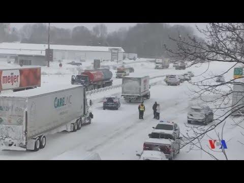 «Πάγωσαν» η Νέα Υόρκη και το Σικάγο, θερμοκρασίες μέχρι -50 Κελσίου