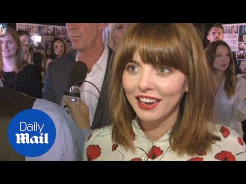 Ophelia Lovibond talks about working with Lake Bell on Man Up - Daily Mail