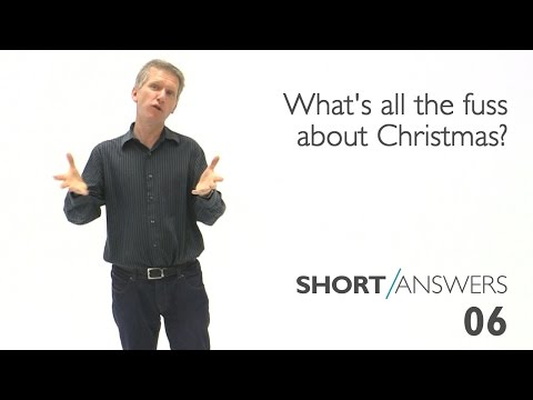 What's all the fuss about Christmas? | Andy Bannister
