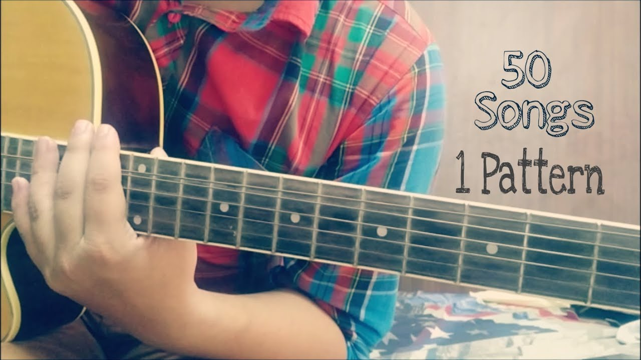 PLAY 50 songs on guitar using 1 simple pattern | SUPER EASY for Beginners