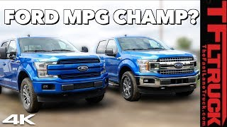 Ford F-150 V8 vs Turbo Towing MPG Test | If You Want The Best F-150 Fuel Economy Buy THIS Truck! by The Fast Lane Truck