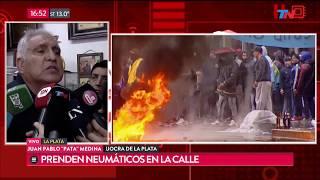Video Tensión en la sede de UOCRA en La Plata MP3, 3GP, MP4, WEBM, AVI, FLV Oktober 2017