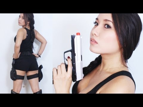 Lara Croft : Tomb Raider Movie (Makeup & Costume)