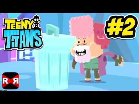 Teeny Titans (by Cartoon Network) - iOS / Android - Walkthrough Gameplay Part 2