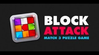 Block Attack - Matching Game YouTube video