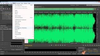 Эффекты в Adobe Audition
