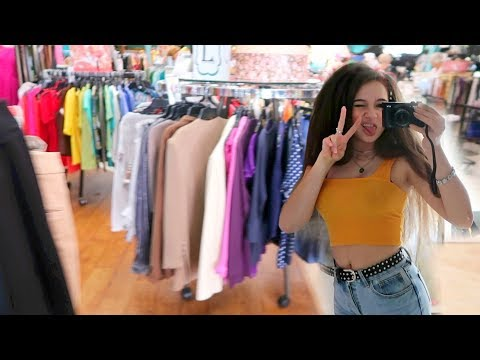 Thrift Shopping & Haul! FionaFrills Vlogs