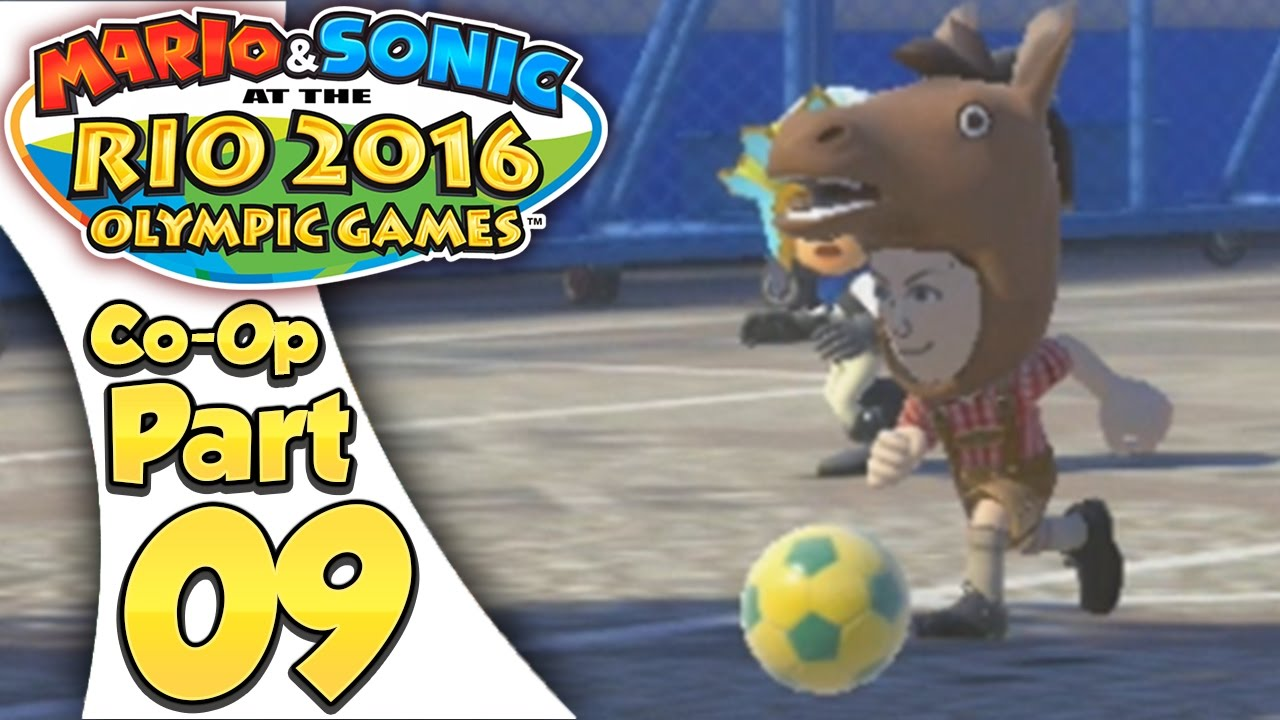 Mario & Sonic At The Rio 2016 Olympic Games – Co-Op Tournament Part 9 | Duel Football!