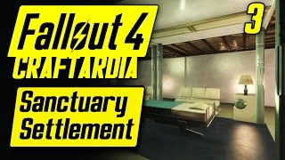Fallout 4 Sanctuary Settlement #3 - Base Building Timelapse - Fallout 4 Settlement Building [PC]