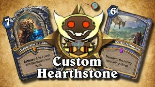 TOP CUSTOM CARDS OF THE WEEK #7 - Some Crazy Hero Cards | Card Review | Hearthstone