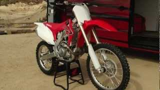 7. 2011 CRF 450 Test  - Dirt Illustrated