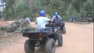 Phuket Thailand 2012 Part 2/8 - ATV Quad Bikes To The Big Buddha Temple