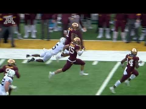 Gopher Football Interceptions vs Penn State