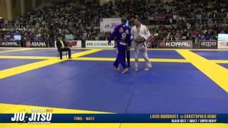 European Open 2015 Black Belt FINALS: Adult Male - Super Heavy: Lucio Rodrigues vs. Christopher Bowe