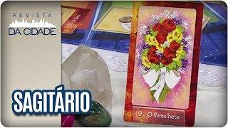 Confira a previsão para o signo de Sagitário para esta semana!Confira também as outras páginas do programa:Site -  Oficial: http://www.tvgazeta.com.br/revistadacidade/Facebook -  https://www.facebook.com/RevistadaCidadeTVTwitter - https://twitter.com/revistadacidadeInstagram -  https://instagram.com/revistadacidade/