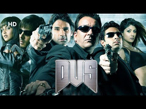 Dus (HD) | Sanjay Dutt | Abhishek Bachchan | Shilpa Shetty | Full Blockbuster Movie