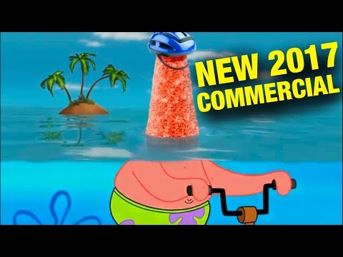 SpongeBob Teaches Patrick How to Ride a Bike (NationWide Clip)