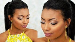 Post completo no blog: http://www.camilanunesmakeup.com/2016/05/maquiagem-madrinha-de-dia-passo-passo.html - Para mais informações: Acesse: http://www.camil...