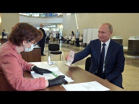 Ρωσία: «Ναι» στη συνταγματική αναθεώρηση