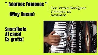 Download Lagu Adornos famosos acordeon - Netza Rodriguez Mp3