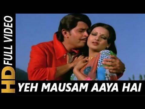 Yeh Mausam Aaya Hai Kitne Saalon Mein | Lata Mangeshkar, Kishore Kumar | Aakraman 1975 Songs (видео)