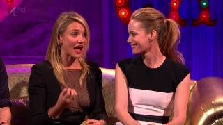 Cameron Diaz,Leslie Mann,Kate Upton  - Alan Carr Chatty Man 2014