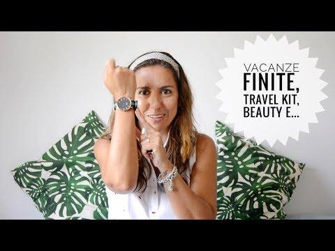 Di vacanze finite, travel kit e promocode! |Ms. Bunbury |