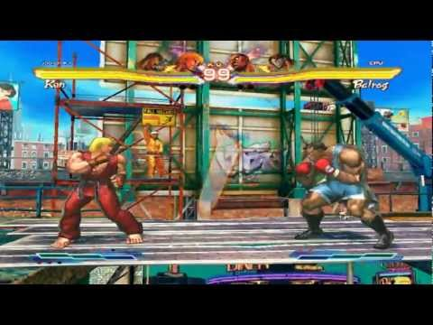 Street Fighter X Tekken - Gameplay PC