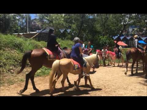 Horseback Riding at Wright Park, Baguio July 1, 2016