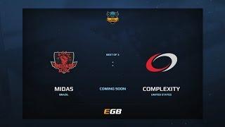 Midas Club vs compLexity, Game 1, Dota Summit 7, AM Qualifier
