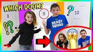 Video DON'T OPEN THE WRONG MYSTERY DOOR! | We Are The Davises MP3, 3GP, MP4, WEBM, AVI, FLV Maret 2019
