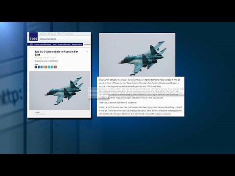 Δύο Sukhoi Su 34 συγκρούστηκαν στον αέρα