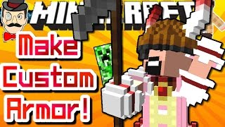 Minecraft CREATE CUSTOM ARMOR! Build Anything&Wear It!