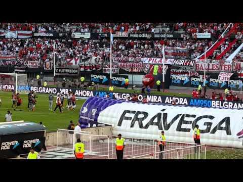 River Plate y Boca Juniors, superclásico, Final del Partido 0-0 - Los Borrachos del Tablón - River Plate