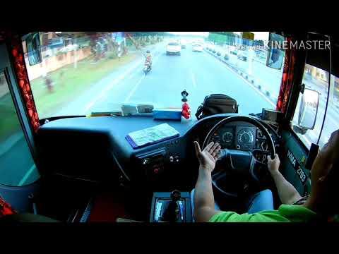 SCANIA K360, Susah Ka Nak Bawak Bas Scania Ni?