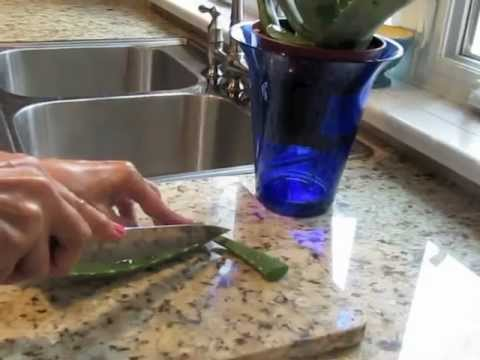 how to use aloe vera plant for skin