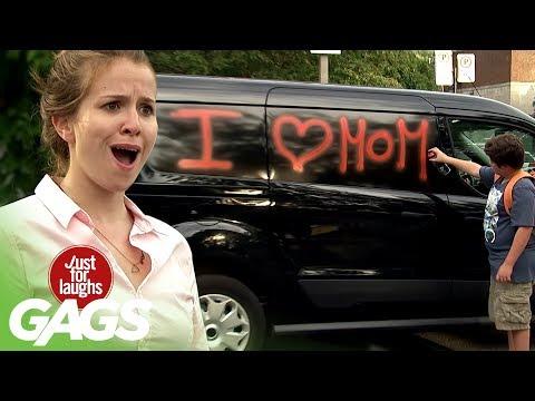 Hilário: Garoto Homenageia a Mãe Com Grafiti em Carro Alheio