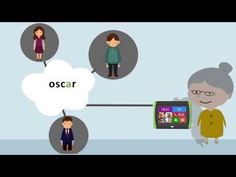 Oscar Communicator: Tablets optimized for the elderly