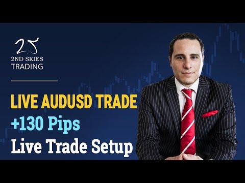 Forex Price Action Live Trade Setup +130 Pips AUDUSD – 2ndSkies Forex