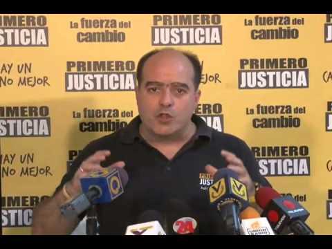 """Julio Borges: Primero Justicia hará Operación Lupa al """"Gobierno de Calle"""""""