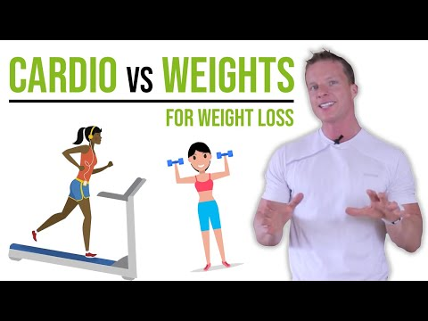 WHICH IS BEST FOR WEIGHT LOSS – CARDIO OR WEIGHT TRAINING FOR WEIGHT LOSS? #LLTV