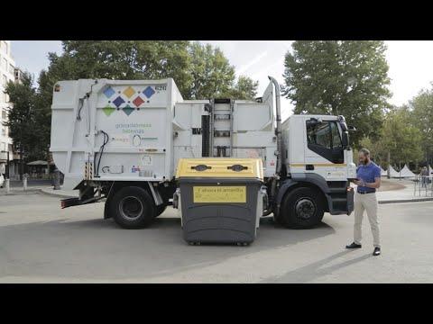 Recogida dinámica de residuos en Granada