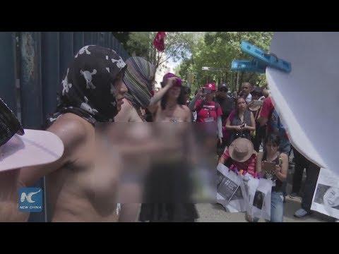 العرب اليوم - احتجاجات في المكسيك طلبا للثأر من مقتل طالبة