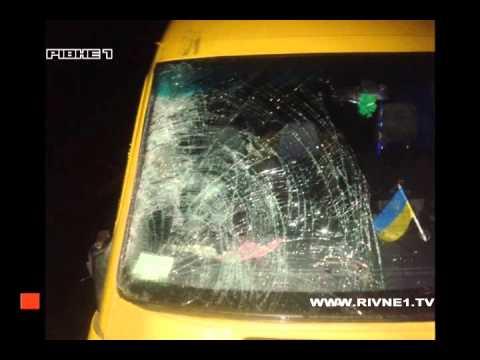 За минулу добу  на Рівненщині у ДТП загинуло троє людей [ВІДЕО]