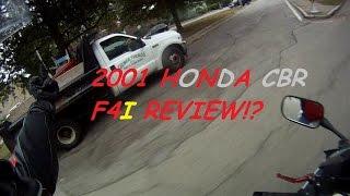 10. 2001 Honda CBR 600 F4i review!
