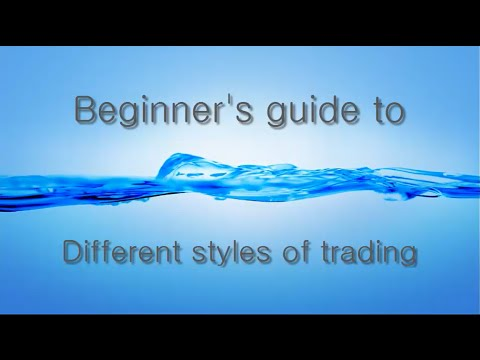 A Beginner's guide to Different styles of trading